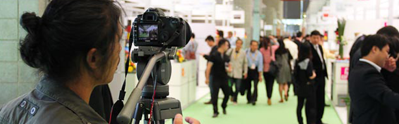Behind the Scenes: InterTextiles Fair Shoot